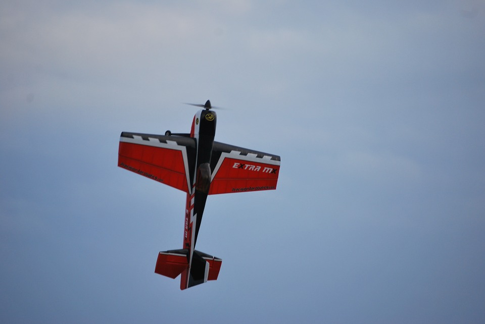 aerobatic model