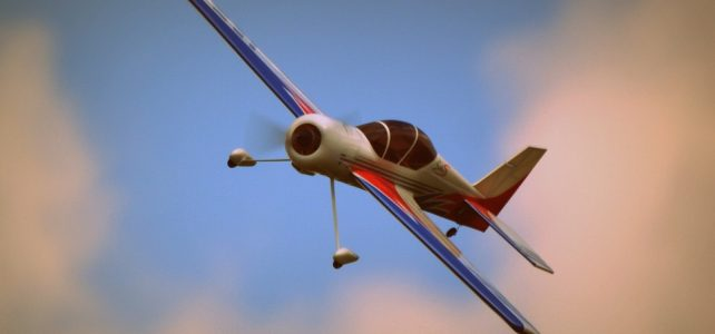 plane model fly